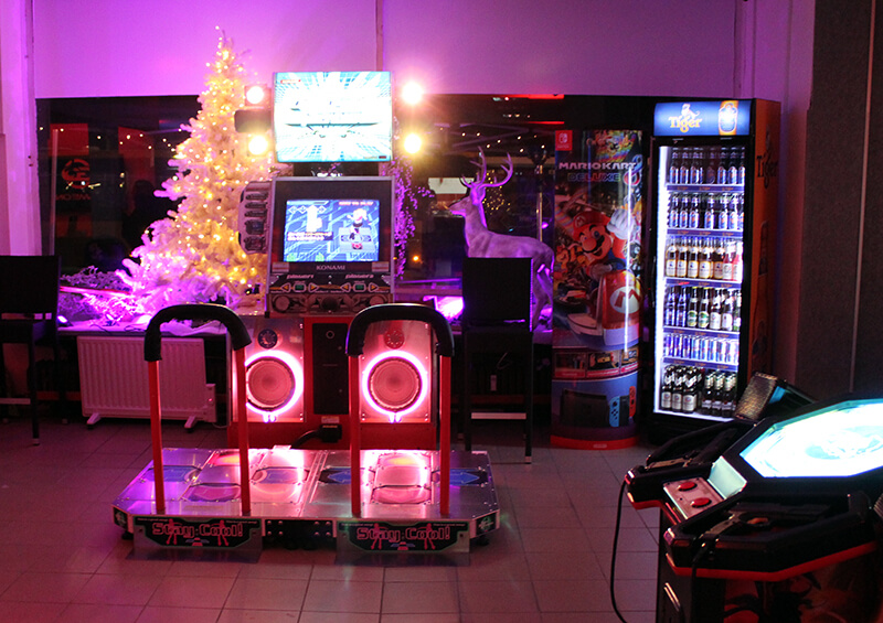 Weihnachten im Arcade Game Center
